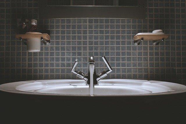 waterkering in de douche